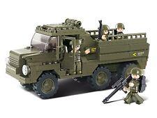 Sluban Sluban ARMY TRUCK APC (ESERCITO / MILITARE BULDING blocchi)