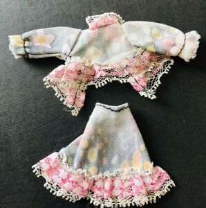 Pippa Doll Dancing Tammie's outfit - patterned Skirt & Top - Topper Dawn - X3