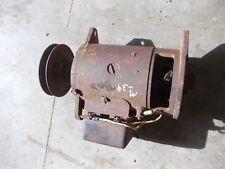 Farmall IH H HV SH M MV SM tractor  6V generator -- good belt drive front pulley