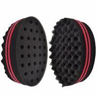 Twist Hair Brush Sponge Wave Barber Hair Brush Afro Hair Curl Wave Magic Tool US