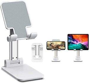 Adjustable Desk Stand Holder Cradle For iPhone Samsung Cell Phone Tablet