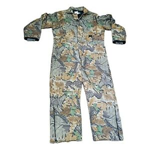 2XL Tall  Liberty 50-52 Chest INSULATED OUTERWEAR Realtree Camo Coveralls Men's