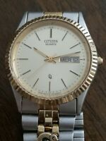 Citizen Men's Stainless Steel Watch Quartz 1100 R12535 RC GN-4W-S Running