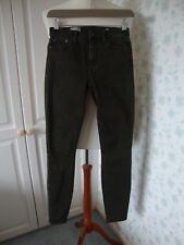"""Gap Jeans Verde 24 resolución verdadera Skinny dentro de la pierna 30"""""""