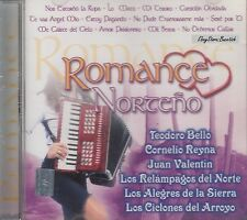 TEODOR BELLO CORNELIO REYNA JUAN VALENTIN LOS RELAMPAGOS ROMANCE NORTENO CD NEW