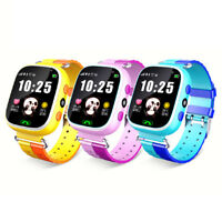 Waterproof GPS Tracker Smart Kids Watch Anti-lost SOS Call For Android/iOS NT