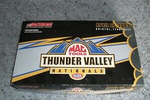 THUNDER VALLEY NATIONALS NHRA APRIL 27, 2003 BRISTOL, TENNESSEE 1:64 SCALE