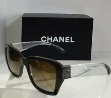 Chanel 5263 M 1276/S9 Chocolate Brown Gradient Polarized Clear Women Sunglasses