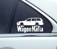 Lowered WAGON MAFIA sticker - for Mitsubishi Legnum Galant 1996-2003