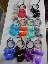 """Wholesale set of 24 Dreamcatchers 4"""",hand made in Mexico,Swap meet,Gift stores"""