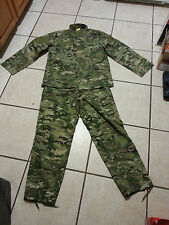 multi cam Combat Uniform Large  Camo fatigues
