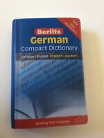 Berlitz Compact Dictionary: Berlitz German Compact Dictionary by Berlitz (2009