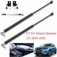 For Nissan Qashqai J11 14-18 Front Bonnet Gas Boot Struts Hood Lift Support