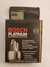 NOS Bosch 4216 Platinum Spark Plug WR7DP, set of 4