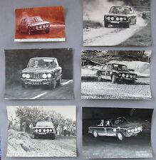 Bmw/02 TII norte mark Club-Rally originale 6 x grandes fotos