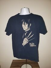 Black Butler TShirt Size M Medium Sebastian Michaelis Japanese Manga Anime Black