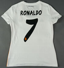 CRISTIANO RONALDO REAL MADRID 2013-14 Women L Lady Jersey Shirt Camiseta