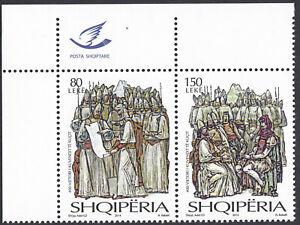 Albania 2014 Complete Set MNH Michel Catalog nº 3455/56 ***