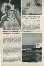 1961 Coast Guard Houseboat as Rescue Station Lake Erie Put-In-Bay Boat Boating