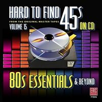 Various Artists - Hard To Find 45s On Cd vol.15 - 80's Essentials [New CD]