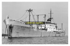 mc2100 - Greek Cargo Ship - Elpida , built 1946 - photo 6x4