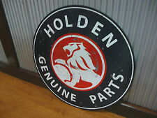 Large Round Holden Genuine Parts Metal sign Man cave bar Garage