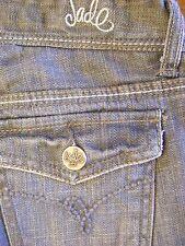 "Grey Jade Cotton Blend Boot Cut Jeans Inseam 32"" Size 1 - CL044-0450"