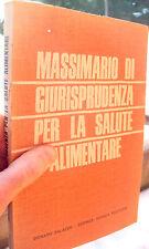 1966 GIURISPRUDENZA DELL'ALIMENTAZIONE DI DONATO PALAZZO