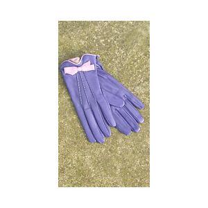 Bruno Carlo Lilac and Mauve Kid Wrist Gloves 6.5
