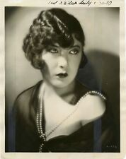 BEAUTIFUL YOLA D'AVRIL - SILENT FILM STAR & ORIGINAL ca 1920's PHOTO