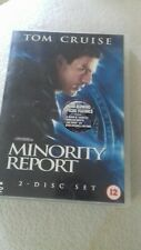 REDUCED!..Minority Report (DVD, 2004, 2-Disc Set)& mind blowing special features