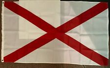 Alabama State Indoor/Outdoor Flag w/ Grommets 3 foot by 5 foot, boat/ jeep/ home