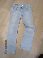 """""""LEE"""" JEANS COUPE DROITE TAILLE BASSE T.31/33 = 40/42  V/MESURES"""