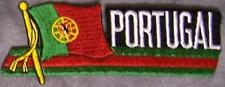 Embroidered International Patch National Flag of Portugal NEW streamer