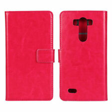 Leather Plain Mobile Phone Cases, Covers & Skins with Card Pocket for LG G3