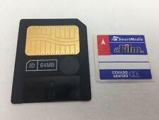 Smartmedia 64Mb Memory Card For Fuji Finepix Olympus Digital Cameras 64 Mb