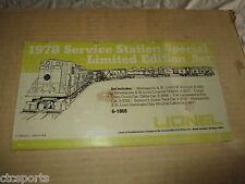 Vintage Lionel 1978 - 6-1868 Minneapolis & St. Louis Service Station Set