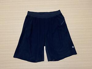 Lululemon Shorts Mens ~ Size Medium ~ w/ Zipper Pocket Waist Drawstrings Black
