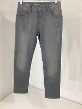 Boys GAP KIDS 1969 Regular Slim Jeans Adjustable Waist Gray Size 8 New