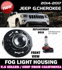 14 15 16 JEEP GRAND CHEROKEE Replacement Fog Light Driving Lamp Lense Housing