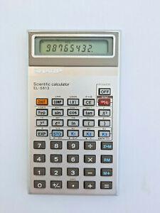 Vintage Sharp EL-5813 Programming Scientific Calculator Very Rare