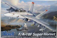 1/48 REVELL F/A-18F SUPER HORNET OOP/HTF #85-5520