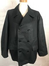 CALVIN KLEIN COLLECTION Jacket Women's Large L Black Double Breasted