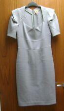 Preloved Roland Mouret Designer Dress. Grey (12)