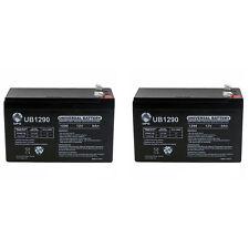 UPG 2 Pack - 9Ah 12V Sealed BATTERY Fits Aqua Vu Marcum Vexilar 12VOLT