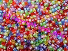 Any Purpose Multi Cube Jewellery Making Craft Beads