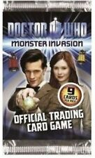 20 Packs Doctor Who Monster Invasion Trading Cards 9 cards per pack Dr card