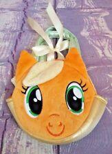 "Aurora My Little Pony Applejack 6.5 "" Plush Purse~ Pony Carrier~EUC"