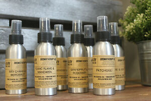 Pure Essential Oil Aromatherapy Mists 100ml - Lovely Fragrances to choose from