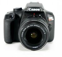 NEW Canon EOS 3000D Rebel T100 18mp SLR Camera w/ 18-55mm Lens